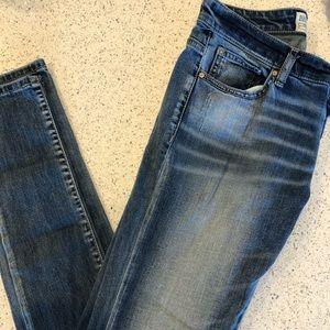 Buckle Skinny Jeans